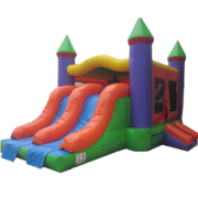 Rainbow Castle Combo Dual Slide
